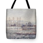 The Mills At Moret Tote Bag