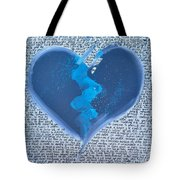 The Mind Lies, The Heart Does Not Know How Tote Bag