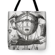 The Minerva Balloon Designed By  Tienne Tote Bag