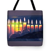 The Miracle Of Lights Tote Bag