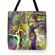 The Miraculous Conception Tote Bag