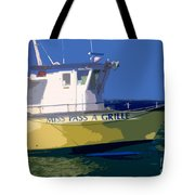 The Miss Pass A Grille Tote Bag