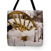 The Missing Wheel Tote Bag