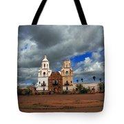 The Mission In Tuscon Arizona Tote Bag