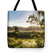 The Mists Of The Morning Tote Bag