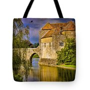 The Moat At Leeds Castle Tote Bag