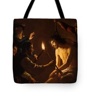 The Mocking Of Christ Tote Bag