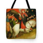 The Mocking Of Saint Thomas Tote Bag