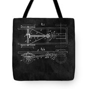 The Model T Patent Tote Bag