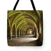 The Monks Cellarium, Fountains Abbey.  Tote Bag