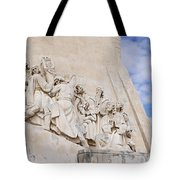 The Monument To The Discoveries Tote Bag