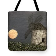 The Moon And The Windmill Tote Bag