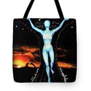 The Moon Goddess Tote Bag