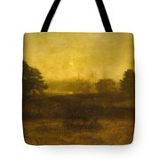 The Moon Is Up Tote Bag