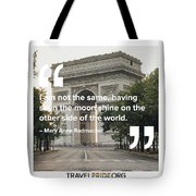 The Moon Shines Tote Bag