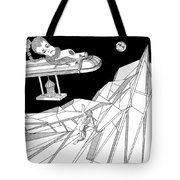 The Moon Tote Bag by Stan  Magnan
