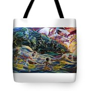 The Moors Of Mu And Ancient America Tote Bag