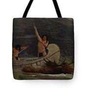 The Moose Chase Tote Bag