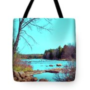The Moose River At Lyonsdale Tote Bag