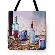 The Morning After The Party Tote Bag