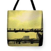 The Morning Commute Tote Bag