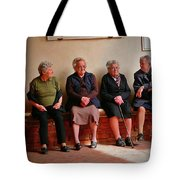 The Morning Gossip Tote Bag
