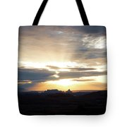 The Morning Streak Tote Bag