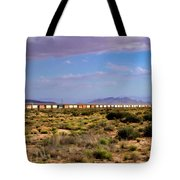 The Morning Train By Route 66 Tote Bag