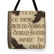 The Morrigan's Peace Prophecy - Sith Co Nem Tote Bag