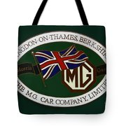 The Morris Garages Tote Bag