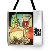 The Most Imported Meal Tote Bag