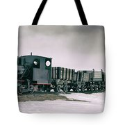 The Most Northern Train? Tote Bag by James Billings