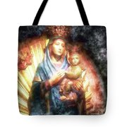 The Mother Of The King Is Queen Tote Bag
