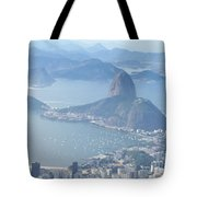 The Mountain In The Mist Tote Bag