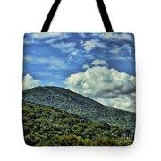 The Mountain Meets The Sky Tote Bag