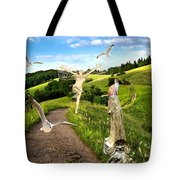 The Mountain Road  1 Tote Bag