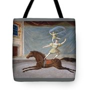 The Mounted Acrobats Tote Bag