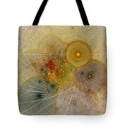 The Mourning Of Persephone - Fractal Art Tote Bag