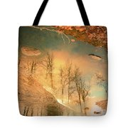 The Movement Of Ice 2 Tote Bag