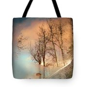 The Movement Of Ice Tote Bag