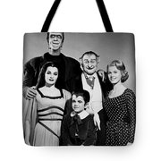 The Munster Family Portrait Tote Bag