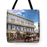 The Murray Hotel At Mackinac Island Tote Bag