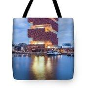 The Museum Aan De Stroom Tote Bag