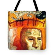 The Museum Of Mankind By Tube - Burlington Gardens - London Underground - Retro Travel Poster Tote Bag