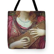 The Music Faintly Falling Dies Away Tote Bag
