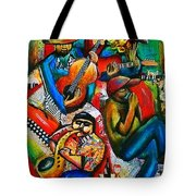 The Music Of Sealy Flats Tote Bag