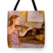 The Music Of Silence Tote Bag