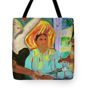 The Musician, The Big Easy Tote Bag