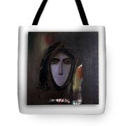 The Muted Woman Tote Bag