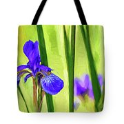 The Mystery Of Spring - Paint Tote Bag